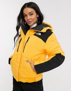 Желтая дутая куртка The North Face Himalayan-Желтый