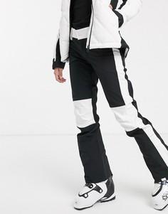 Черные лыжные брюки Roxy-Черный