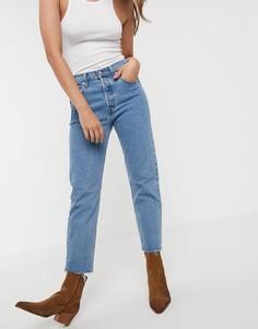 Укороченные джинсы Levis 501-Синий