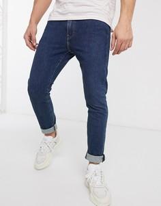 Эластичные джинсы скинни Levis 510-Синий