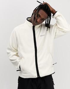 Белая флисовая куртка Carhartt WIP-Белый