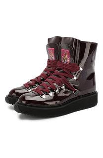 Кожаные ботинки Kenzo