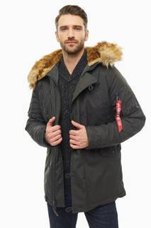 Куртка 193128 rep.grey Alpha Industries