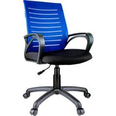 Кресло оператора Helmi HL-M16 Vivid ткань S черная/ ткань TW синяя