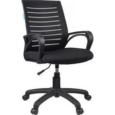 Кресло оператора Helmi HL-M16 Vivid ткань S черная/ ткань TW черная
