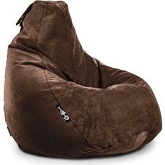 Кресло мешок GoodPoof Груша велюр шоколад XXL