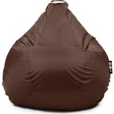 Кресло мешок GoodPoof Груша оксфорд XL коричневый