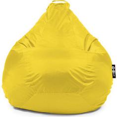Кресло мешок GoodPoof Груша оксфорд L желтый