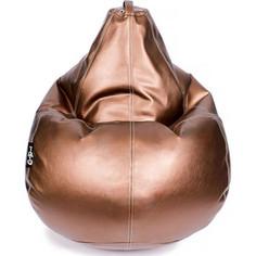 Кресло мешок GoodPoof Груша экокожа премиум бронза 3XL