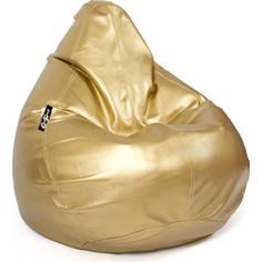 Кресло мешок GoodPoof Груша экокожа премиум XXl золотая