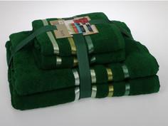 Комплект махровых полотенец (4 штуки) Karna