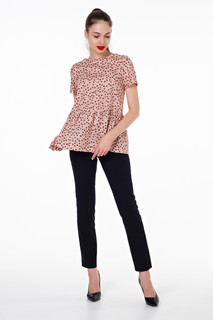 Милая блуза с воланом из хлопка Victoria Filippova