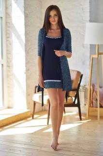 Комплект (сорочка+халат) Sharlize