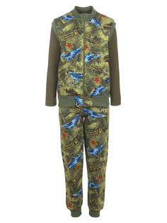 Комплект для мальчика 3-х предметный: жилет, штаны лонгслив MD