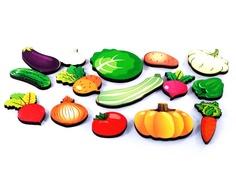 Сортер Развивающая доска Нескучные игры Овощи Большая 7987