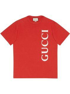 Gucci футболка с логотипом