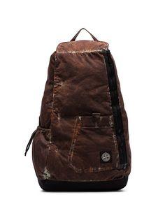 Stone Island рюкзак с камуфляжным принтом