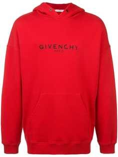 Givenchy винтажная толстовка с капюшоном Paris