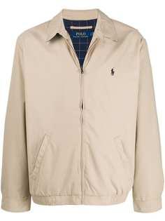 Polo Ralph Lauren куртка на молнии с вышитым логотипом