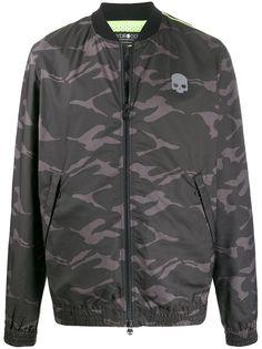 Hydrogen спортивная куртка с камуфляжным принтом