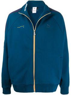 Puma куртка с контрастным логотипом