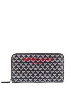 Emporio Armani кошелек с графичным принтом