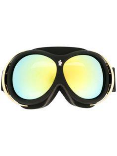 Moncler Eyewear очки-маска с зеркальными линзами