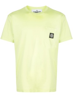 Stone Island футболка свободного кроя с нашивкой-логотипом