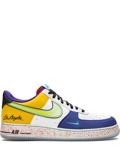 Nike кроссовки Air Force 1 07 LV8 What The LA