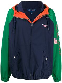 Polo Ralph Lauren куртка с принтом