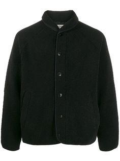 YMC куртка свободного кроя из искусственной овчины
