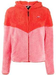 Nike куртка в стиле колор-блок с капюшоном