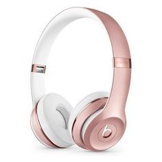 Наушники с микрофоном BEATS Solo3, Bluetooth, накладные, розовый/золотистый [mx442ee/a]