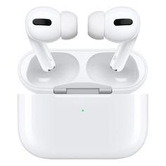 Наушники с микрофоном APPLE AirPods Pro, Bluetooth, вкладыши, белый [mwp22ru/a]