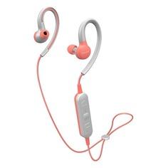 Наушники с микрофоном PIONEER SE-E6BT-P, Bluetooth, вкладыши, розовый/серый