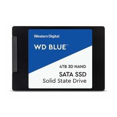 """SSD накопитель WD Blue WDS400T2B0A 4Тб, 2.5"""", SATA III"""