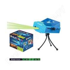 Лазерный проектор volpe udl-q350 6p/g blue. 6 типов проекции. ul-00001185