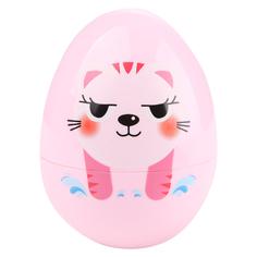 Игрушка-неваляшка Игруша Котёнок розовый