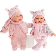 Кукла Juan Antonio Ромина в розовом 27 см