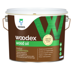 Масло Teknos для дерева Woodex Wood PM3 3/2,7 л