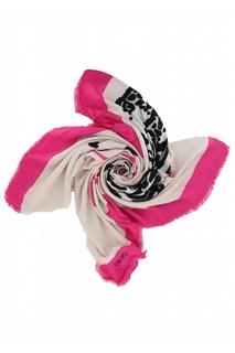 Двухцветный платок с принтом Liu Jo