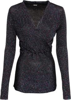 Пуловер с люрексом Bonprix