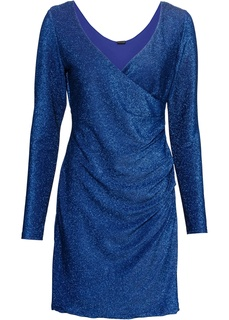 Короткие платья Платье с эффектом запаха Bonprix