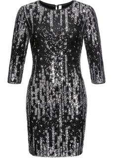 Короткие платья Вечернее платье с пайетками Bonprix