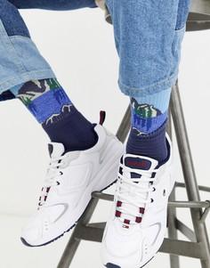 Белые кроссовки Tommy Jeans-Белый
