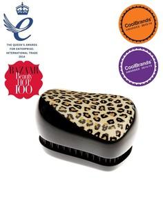 Компактный стайлер - профессиональная щетка для волос Tangle Teezer-Черный