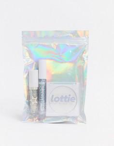 Эксклюзивный косметический набор Lottie London X ASOS - Frosted Ice (Queen Haul), Скидка 40%-Бесцветный