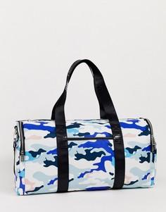 Сумка с камуфляжным принтом Juicy Couture-Синий