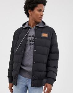 Дутая куртка Love Moschino-Черный