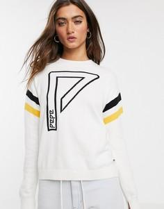 Джемпер с логотипом Pepe Jeans-Белый